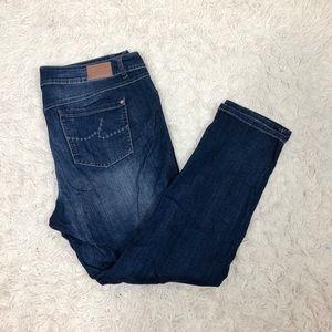 INC Denim SZ 18W Straight Leg Jeans Slim Tech Fit